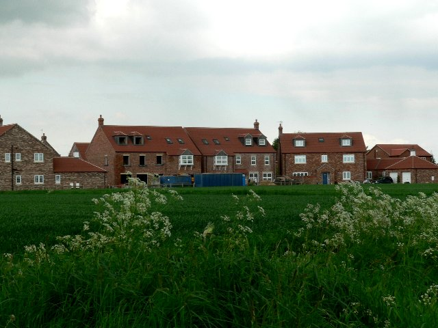 New Housing on the outskirts of Eastrington