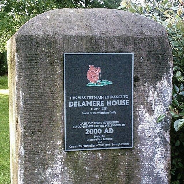 Gatepost, Delamere Park