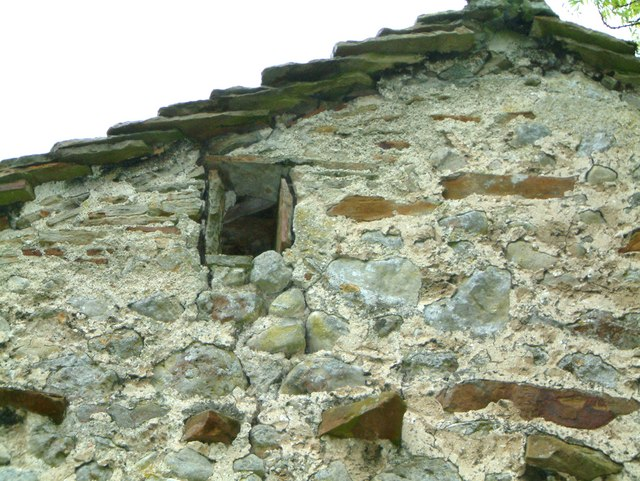 Owl window in Dales field barn - early conservation!