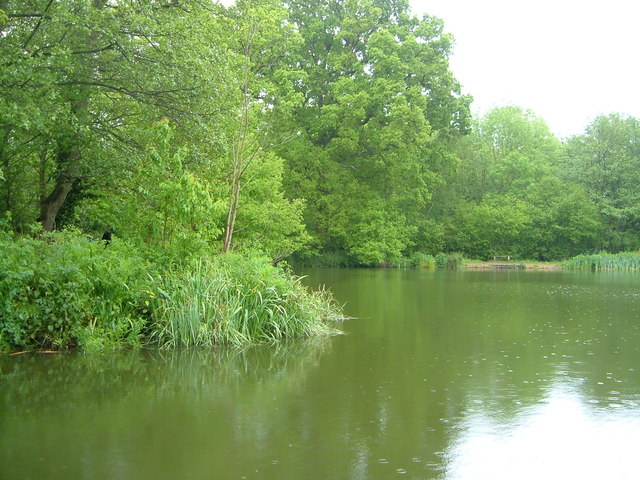 Lake at Sissinghurst Castle