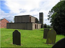 SK4407 : Holy Rood Bagworth by Andrew Tatlow
