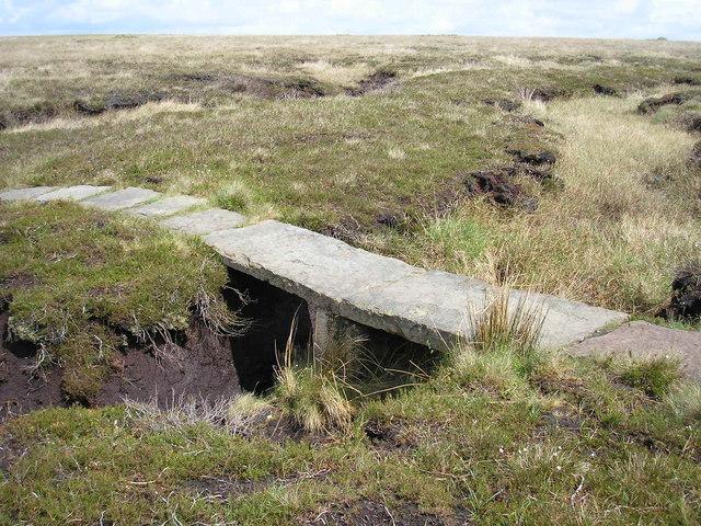 Footbridge on Anglezarke Moor