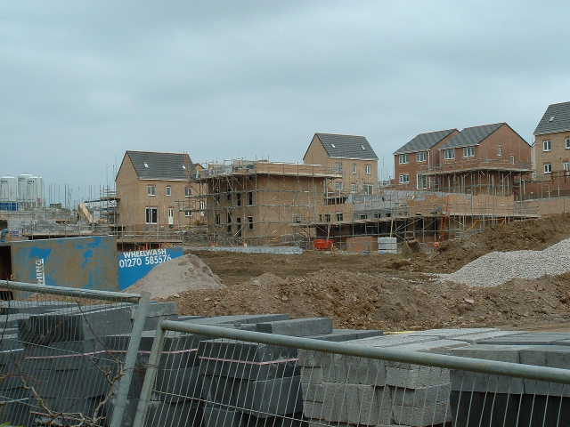 Housebuilding at Marlas