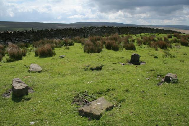 Cairn Circle, Extwistle Moor