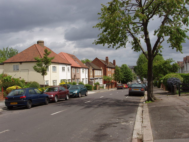 East end of Lynton Road, North Acton