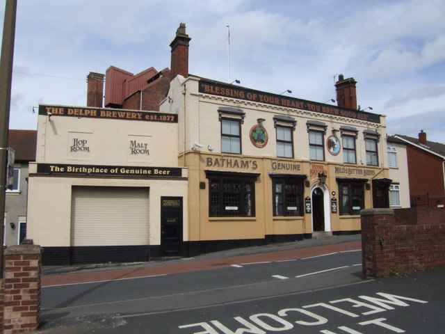 The Vine and Delph Brewery, Brierley Hill