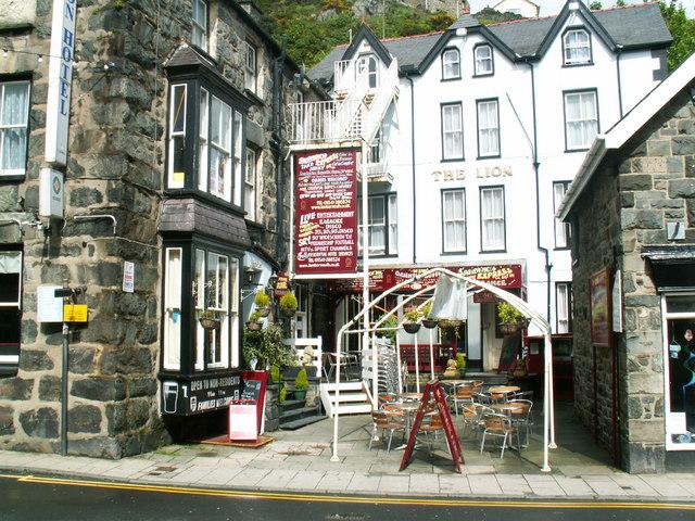 Lion pub Barmouth
