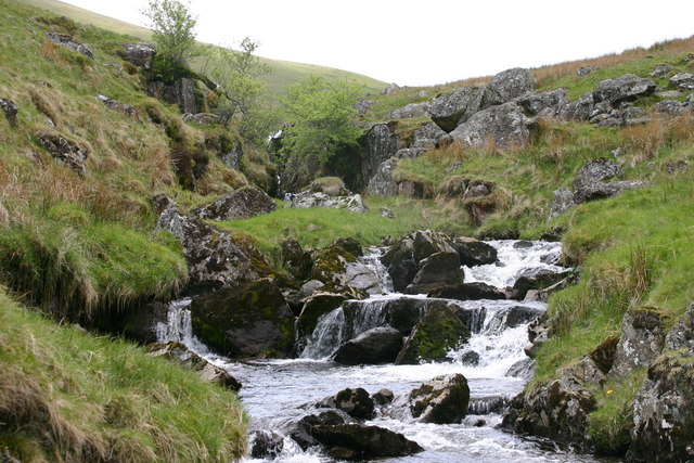 Waterfall in Mosedale Beck