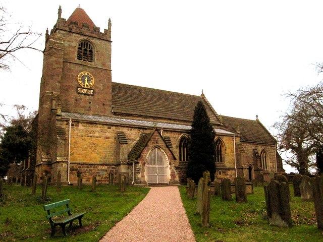 Whixley parish church