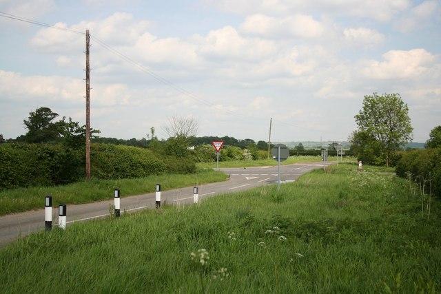 Haddington cross roads