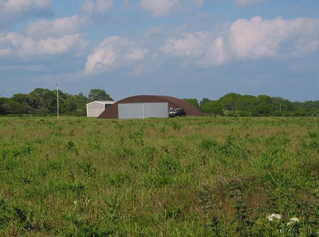 Remains of Lymington Airfield, Snooks Farm