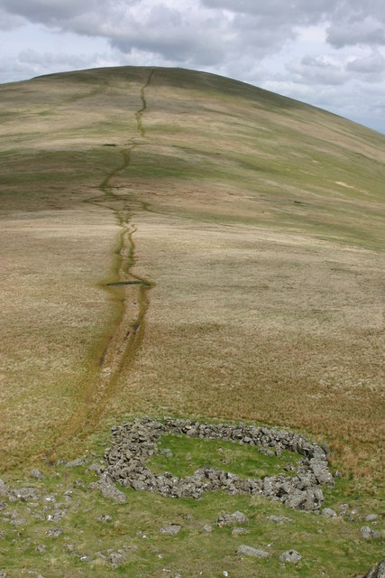 Sheepfold and Path, Calfhow