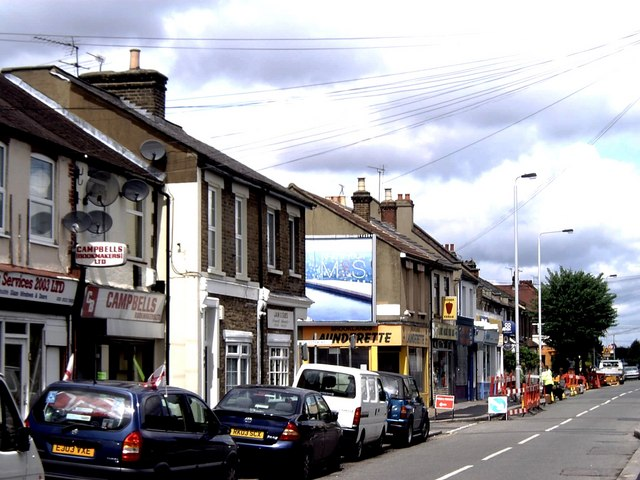 Shops in Higham Hill Road, Walthamstow