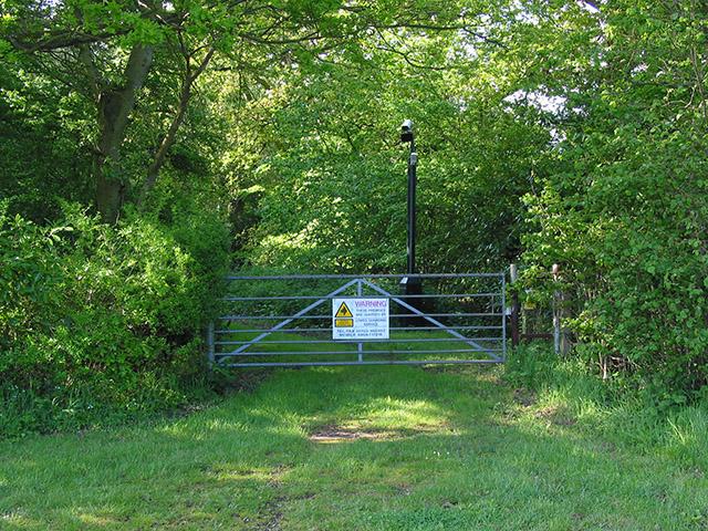 CCTV security at Newtown Park, nr Lymington