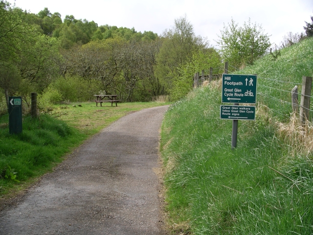 """Start of """"Hill Walk"""" to Meall Fuar-mhonaidh, Grotaig"""