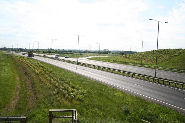 A46 towards Newark