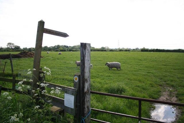Brough Lane footpath