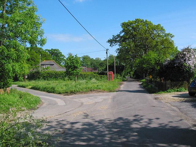 Portmore hamlet, nr Lymington