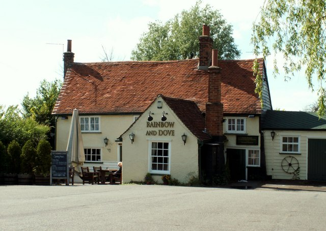 'Rainbow And Dove' public house, Hastingwood, Essex