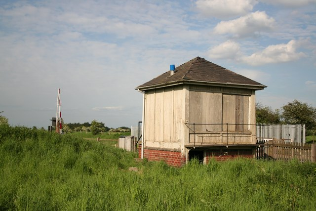 Disused signal box