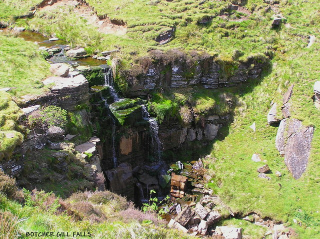 Botcher Gill  Falls