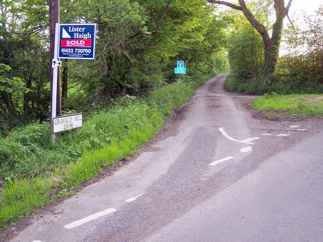 Gravelly Lane, near Huby