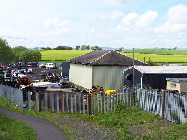 Old station building