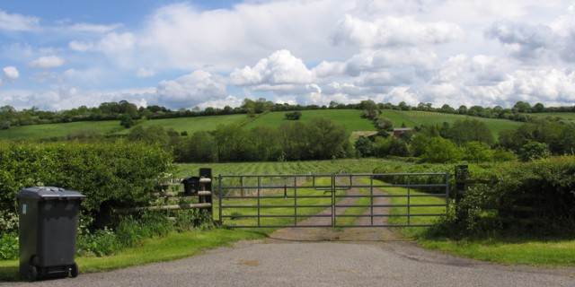 Busky Farm Entrance