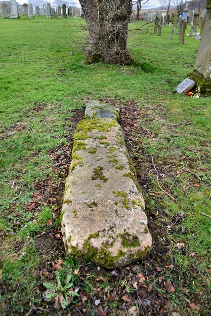 Mort stone in Inverurie graveyard