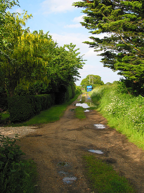 Footpath off Ramley Road, Upper Pennington, Lymington