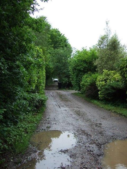 Track near Covetous Corner