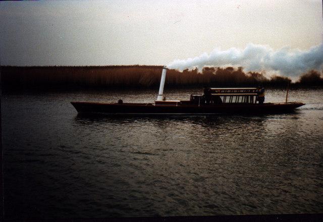 Victorian Steam launch