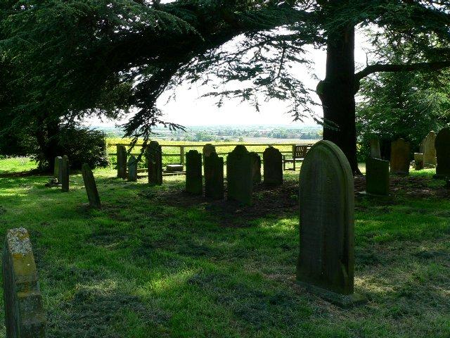 Graveyard of Holme on Spalding Moor Parish Church