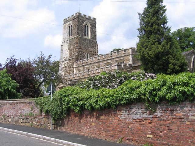 All Saints' church, Sutton, Beds