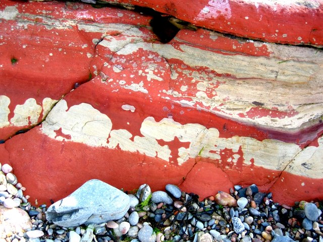 Old Red Sandstone exposure