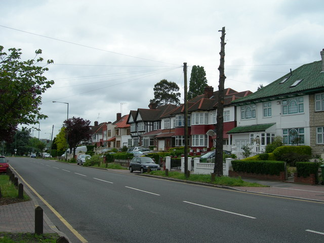 Houses on Watford Road, Kenton