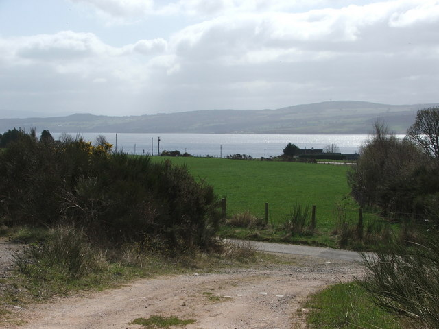 View of the Beauly Firth