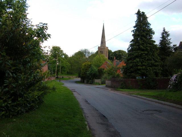 Naseby village