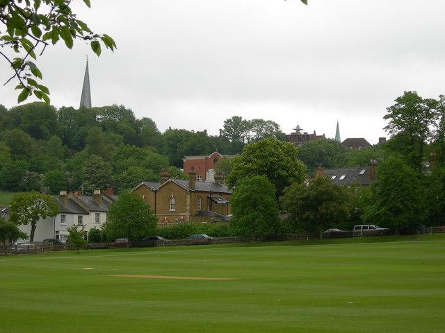 Playing Fields off Lower Road, Harrow