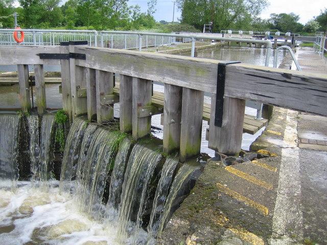 River Medway: Eldridges Lock