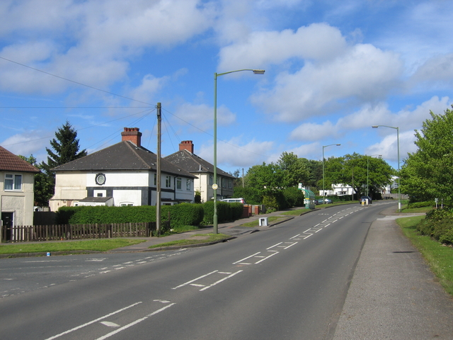 Frankley Beeches Road.