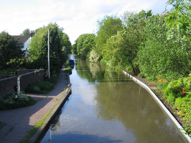 Worcester and Birmingham Canal at King's Norton