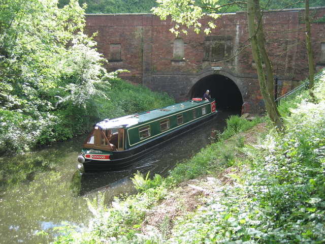 Brandwood Tunnel, Stratford upon Avon Canal