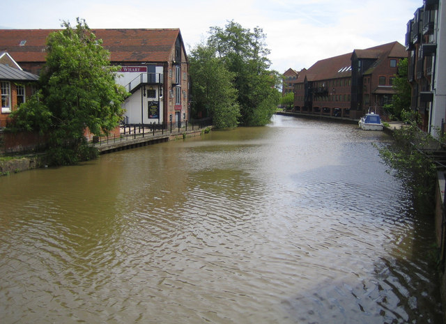 River Medway in Tonbridge