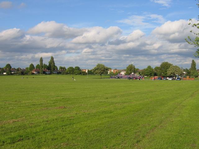Recreation ground at Highter's Heath