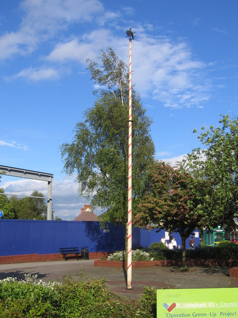 The May pole at The Maypole