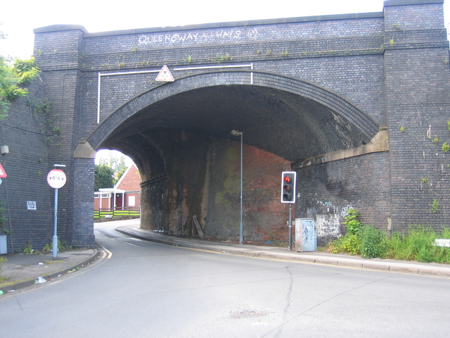Bridge at Mill Lane and Station Road, Northfield