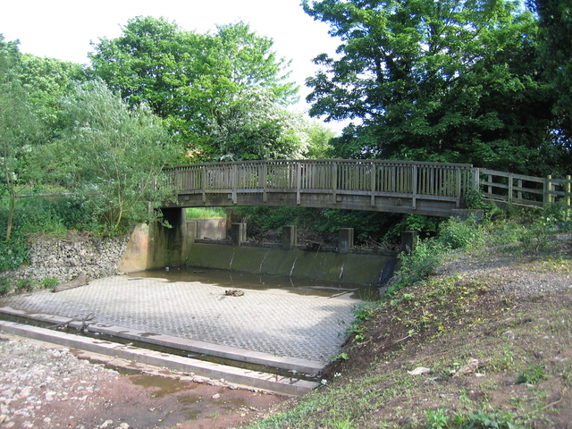 River Rea flood weir