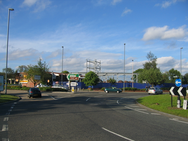 The Maypole roundabout