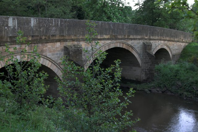 The bridge at Egton Bridge